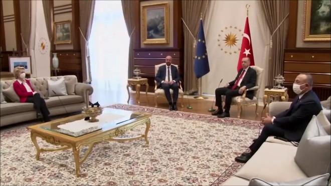 Ερντογάν - Ούρσουλα