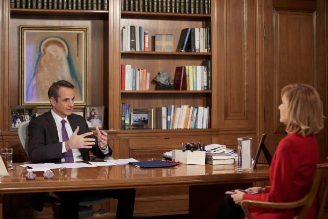 Μητσοτάκης συνέντευξη σε Ζαχαρέα