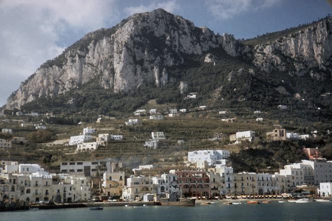 To νησί Κάπρι της Ιταλίας- φωτογραφία Eurokinissi