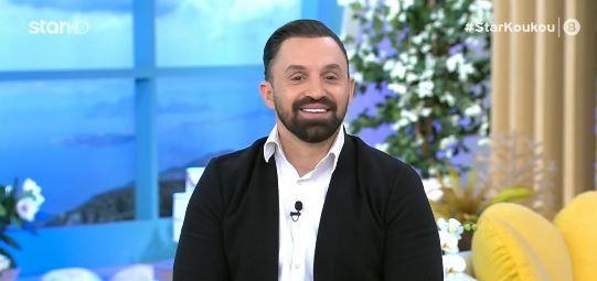 Ο Νίκος Σκορδάκης στην εκπομπή Στη φωλιά των Κου Κου
