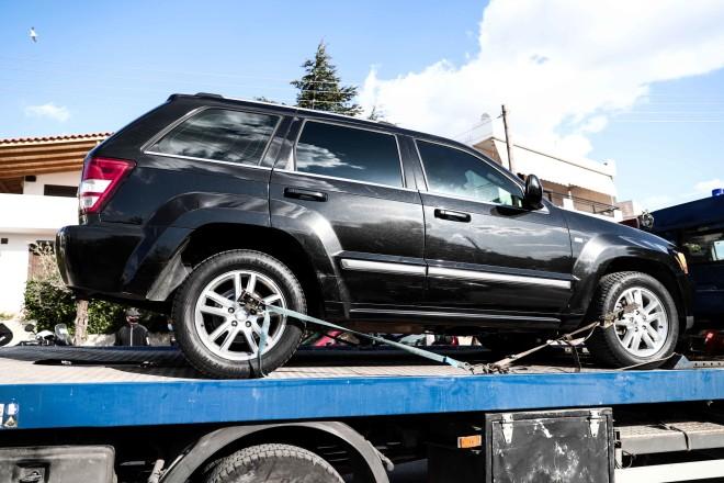 Ο Γιώργος Καραϊβάζ βρισκόταν έξω από το αυτοκίνητό του όταν δέχτηκε καταιγισμό πυροβολισμών- φωτογραφία Eurokinissi