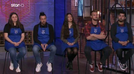 MasterChef 5: Η Μπλε ομάδα