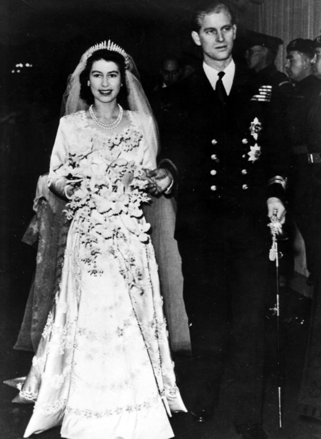 Φωτογραφία από τον γάμο τους το 1947- ΑΡ