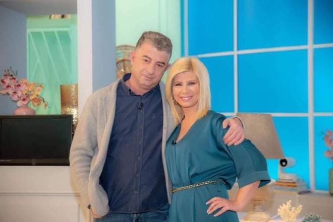 Γιώργος Καραϊβάζ και Ζήνα Κουτσελίνη στην εκπομπή«Αλήθειες με τη Ζήνα»