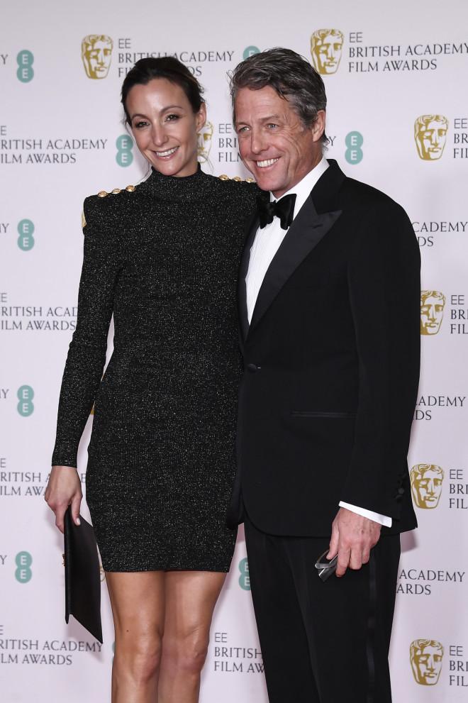 Ο Hugh Grant και η σύζυγός του Anna Eberstein