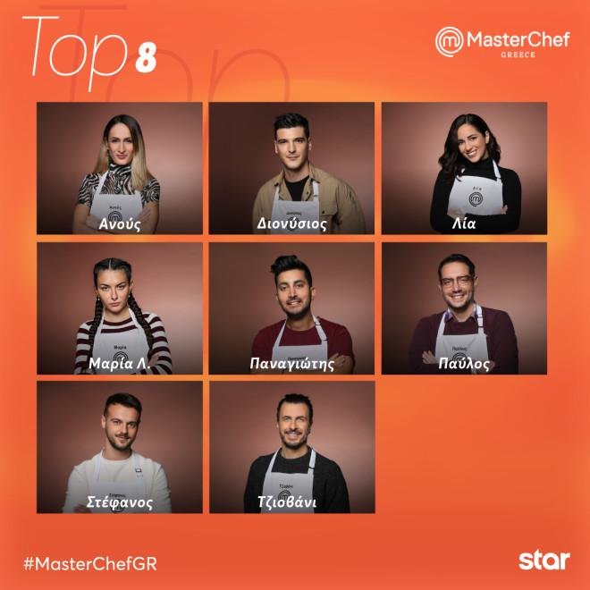 Οι top 8 του MasterChef 5