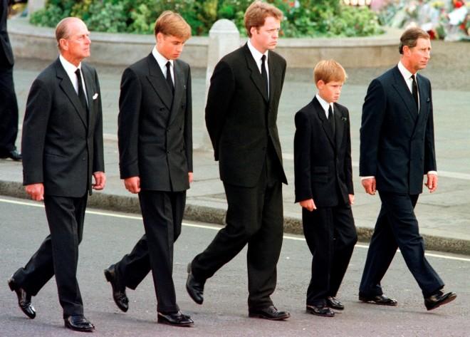 Πρίγκιπας Φίλιππος Πρίγκιπας Γουίλιαμ Ερλ Σπένσερ Πρίγκιπας Χάρι Πρίγκιπας Κάρολος