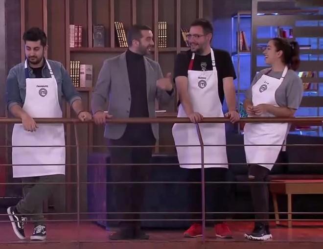 Λεωνίδας Κουτσόπουλος MasterChef 5 Παύλος