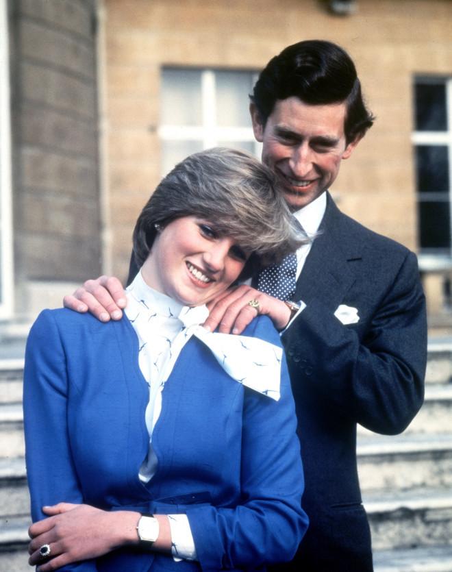 Ο πρίγκιπας Κάρολος και η πριγκίπισσα Diana