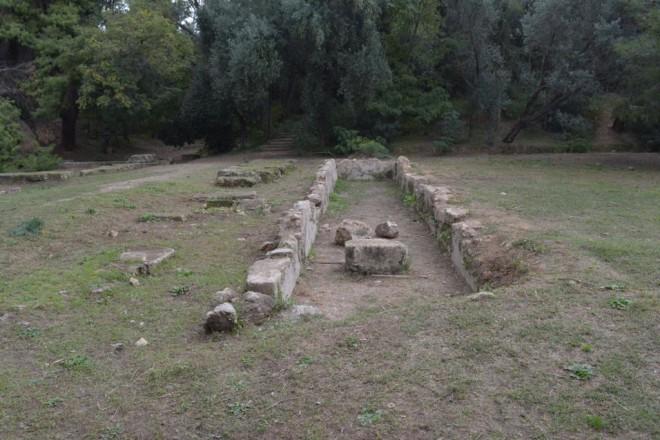 Από τον 6ο π.Χ. αι. είχε ιδρυθεί το Γυμνάσιο της Ακαδήμειας