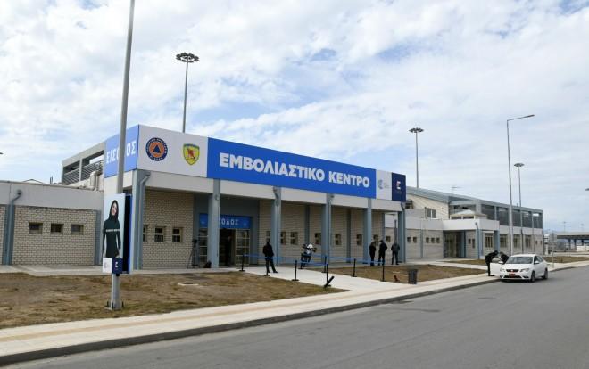 Η είσοδος τουεμβολιαστικού κέντρου στηνΠάτρα- φωτογραφία ΙΝΤΙΜΕ