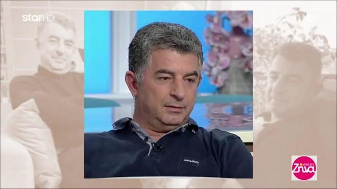 Ο αστυνομικός συντάκτης Γιώργος Καραϊβάζ που δολοφονήθηκε το μεσημέρι της 9ης Απριλίου έξω από το σπίτι του στον Άλιμο