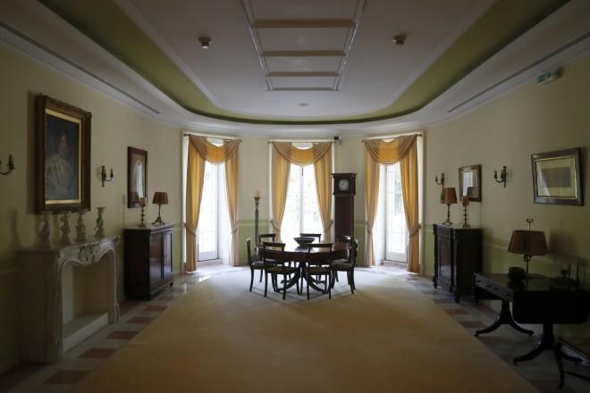 Εκθεσιακός χώρος στο Μον Ρεπό- φωτογραφία ΑΡ