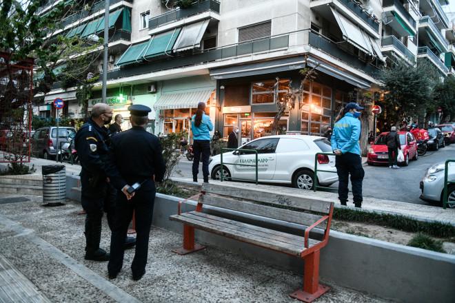 πλατεία Βαρνάβα αστυνομία