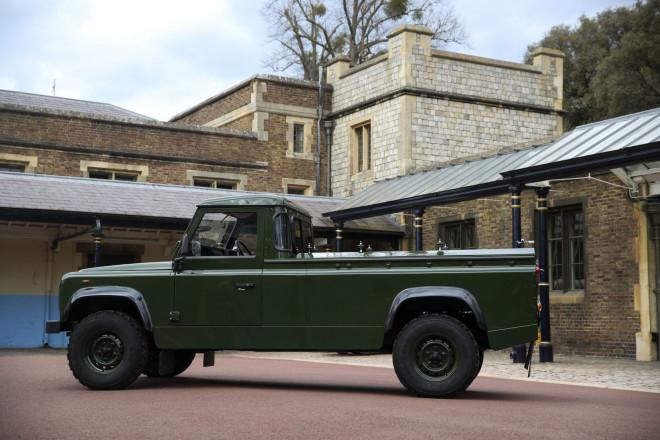 Land Rover κηδεία Φιλίππου