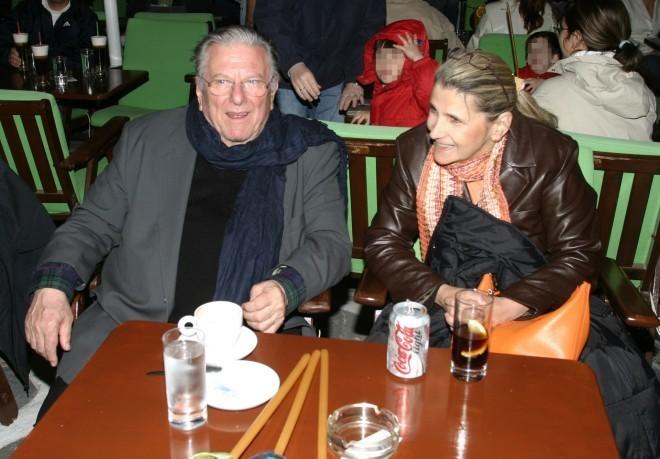 Ο Κώστας Βουτσάς με τη Θεανώ Παπασπύρου/NDP