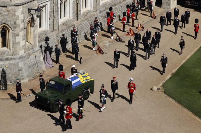 κηδεία Φιλίππου πομπή