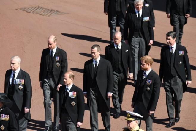 Συγκίνηση στην κηδεία του πρίγκιπα Φίλιππου