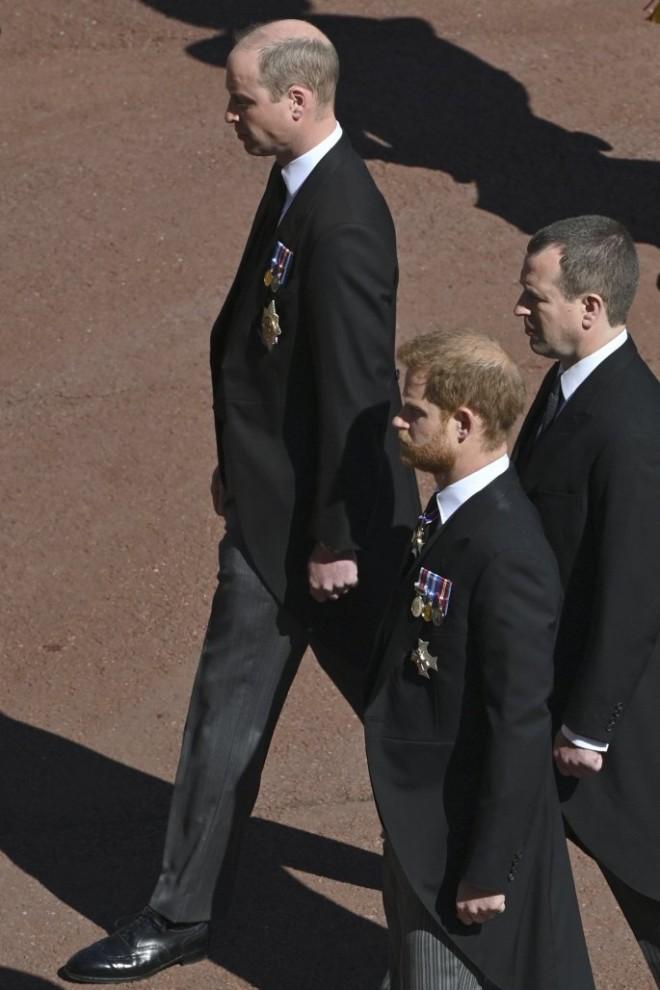 Ο θάνατος του πρίγκιπα Φίλιππου ένωσε τα δυο αδέρφια