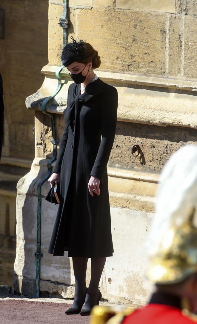 Ιδιαίτερα φορτισμένη η Kate Middleton