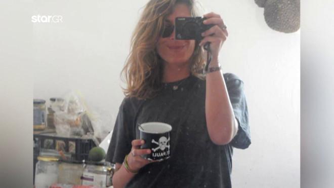 Η 25χρονη Κορίνα από την Κέρκυρα, φοιτήτρια στην Κρήτη, που έχασε τη ζωή τηςστη Γαύδο- φωτογραφία απο κεντρικό δελτίο Star
