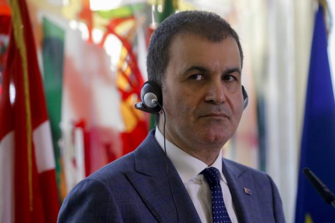 Οεκπρόσωπος του κυβερνώντος κόμματος της Τουρκίας ΑΚΡ, Ομέρ Τσελίκ - φωτογραφία ΑΡ
