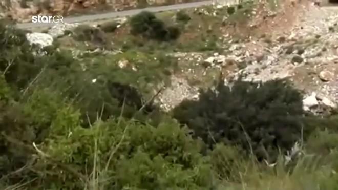 Το σημείο όπου βρέθηκε το ζευγάρι στο Μπαλί του Ρεθύμνου Κρήτης- κεντρικό δελτίο ειδήσεων Star