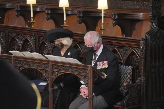 Η Καμίλα και ο πρίγκιπας Κάρολος