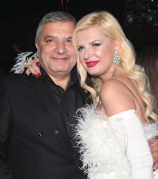 Η Μαρίνα Πατούλη με τον πρώην σύζυγό της, Γιώργο Πατούλη /Φωτογραφία NDP Photo Agency