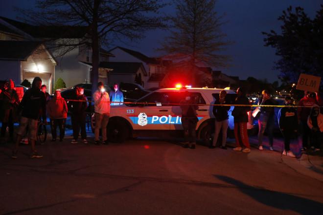 Αστυνομία στο σημείο της δολοφονίας της 16χρονης στο Οχάιο