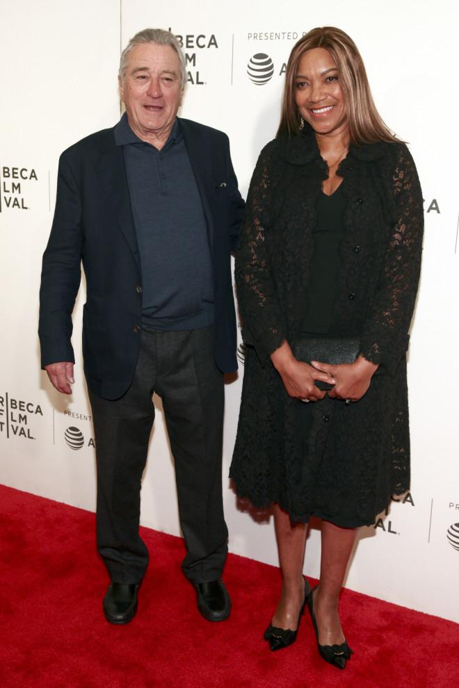 Ο Ρόμπερτ Ντε Νίρο με τη πρώην σύζυγό του,  Γκρέις Χάιταουερ.