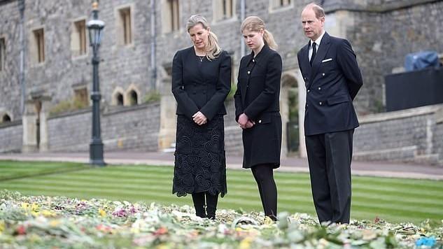 Sophie, Κόμισσα του Wessex, Lady Louise Windsor Πρίγκιπας Edward