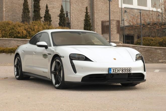 Traction Porsche Taycan