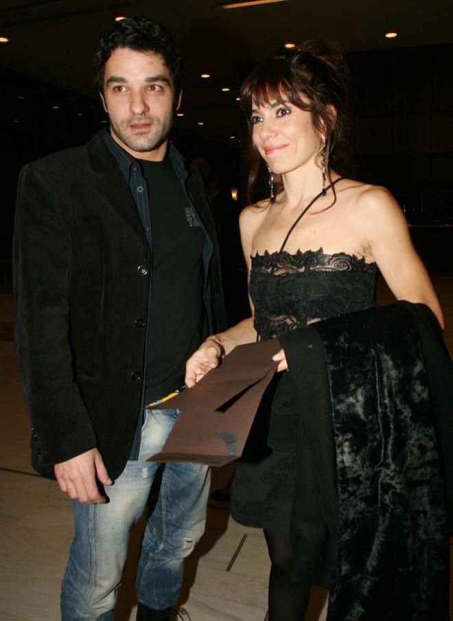 Το ζευγάρι σε βραδινή του έξοδο πριν από δέκα χρόνια /Φωτογραφία NDP Photo Agency