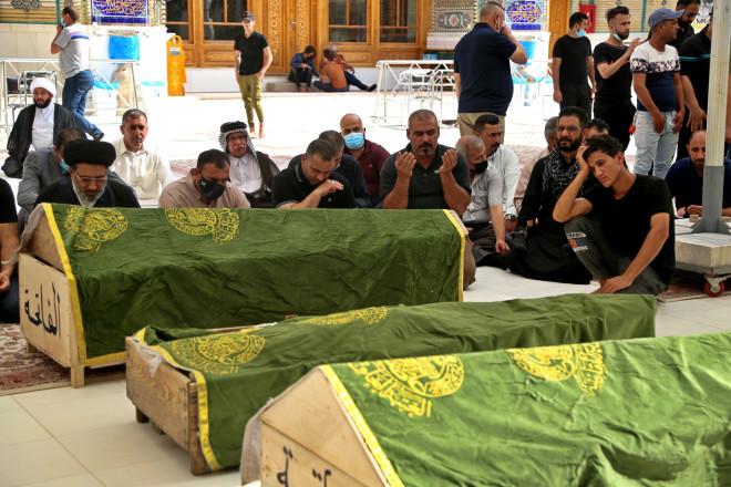 νεκροί από τη φωτιά σε νοσοκομείο στη Βαγδάτη