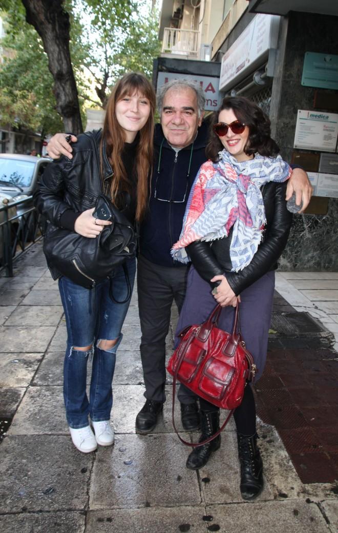 Η Θαλασσινή Μποσταντζόγλου με τους γονείς της