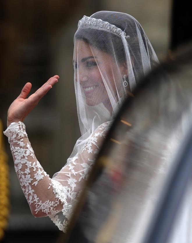 H νύφη Kate Middleton