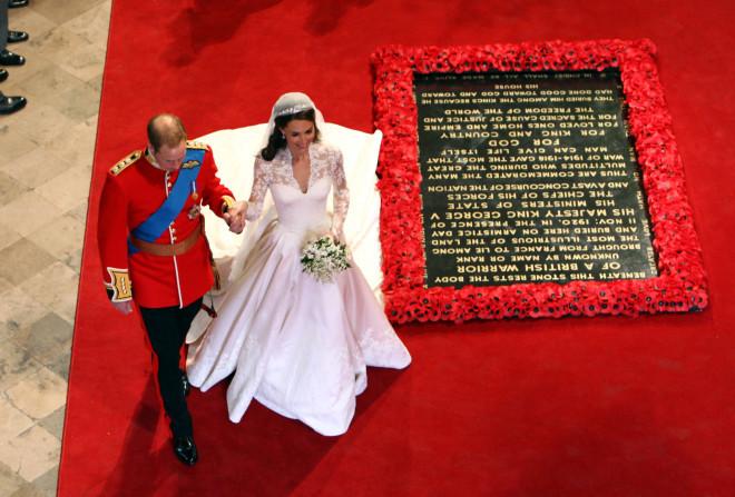 Πρίγκιπας William - Kate Middleton: ο γάμος τους