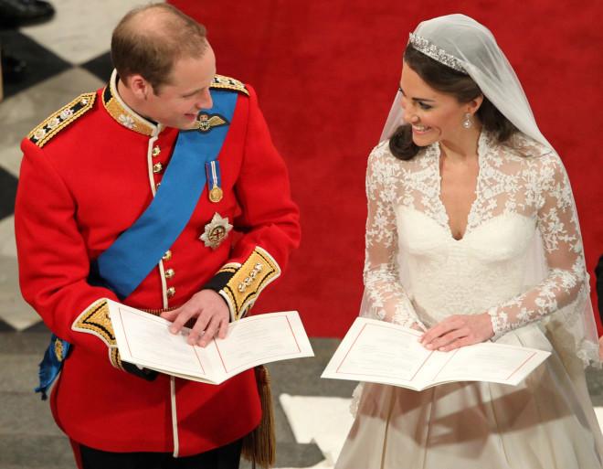 Πρίγκιπας William - Kate Middleton: ο γάμος τους στο Αββαείο