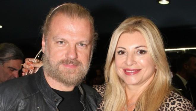 O Kώστας Σπυρόπουλος με την Χριστίνα Πολίτη