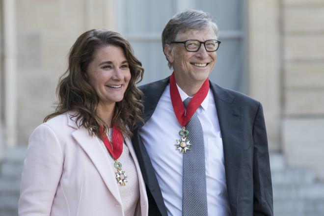 Μπιλ και Μελίντα Γκέιτς στη Γαλλία