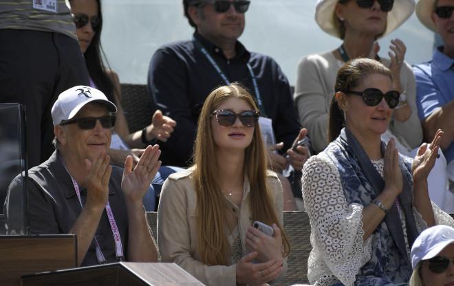 Μπιλ και Μελίντα Γκέιτς με την κόρη τους