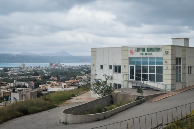 Το γηροκομείο στα Χανιά- φωτογραφία Eurokinissi