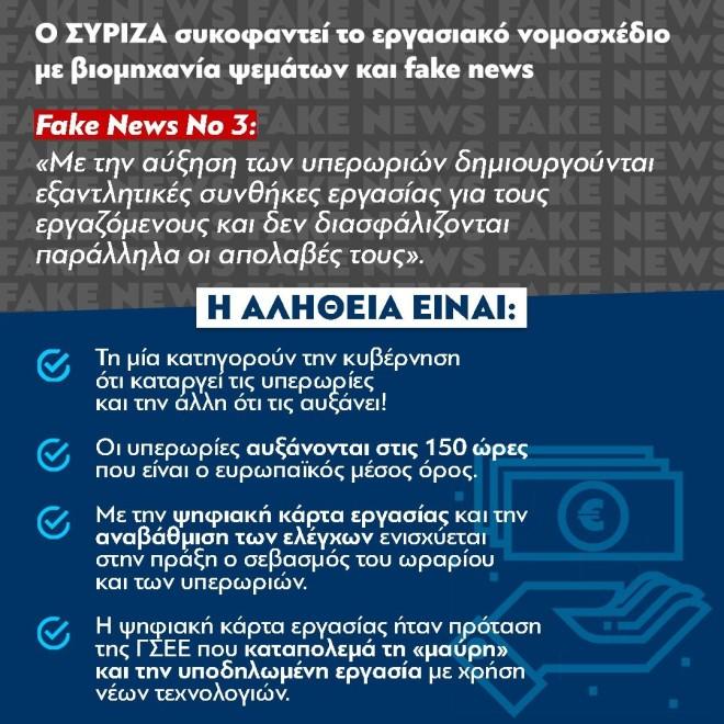 ΝΔ fake news ΣΥΡΙΖΑ No2