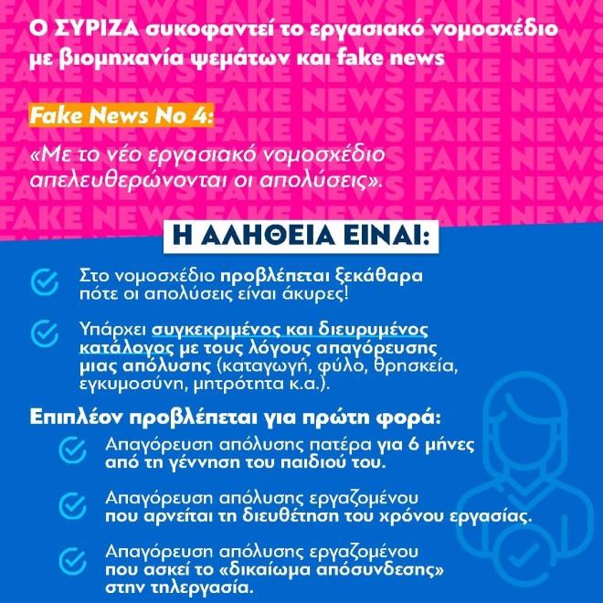ΝΔ fake news ΣΥΡΙΖΑ No 4