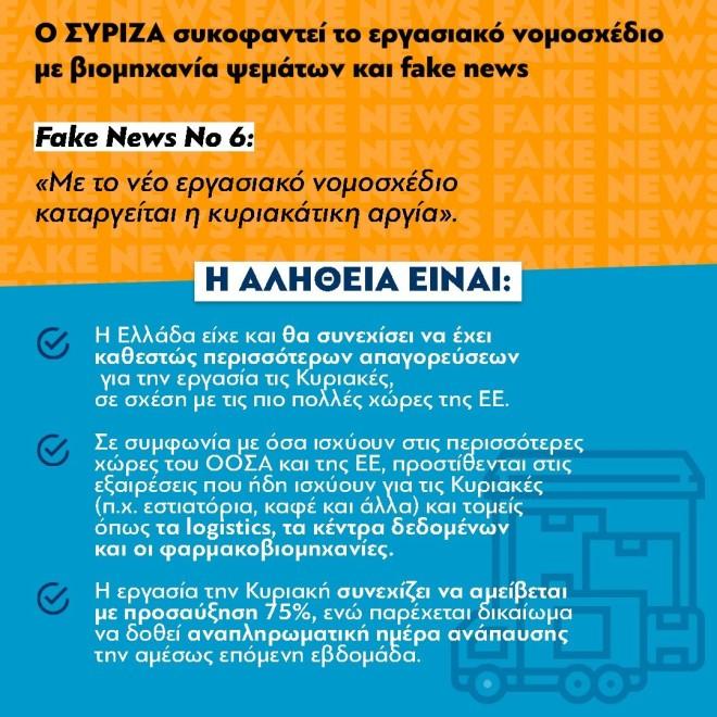 ΝΔ fake news ΣΥΡΙΖΑ no 6