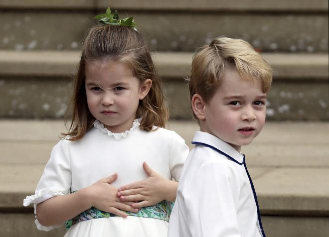 Πριγκίπισσα Charlotte - πριγκιπας George