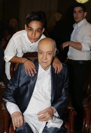 Ο Νίκος Μπάρκουλης με τον πατερα του, Ανδρεα Μπάρκουλη
