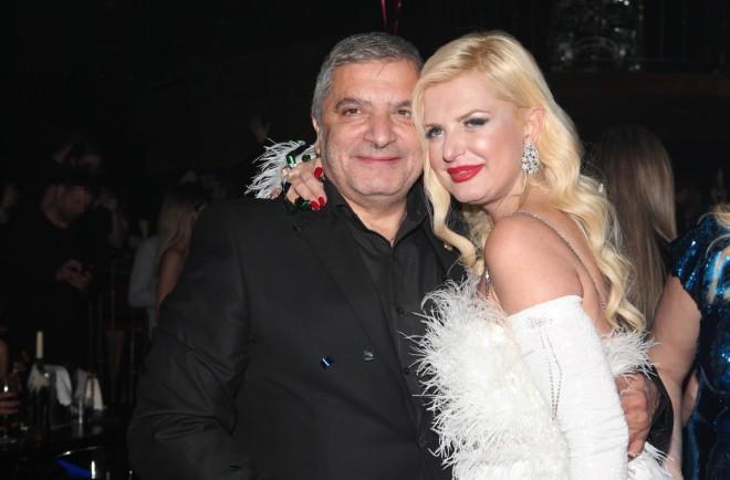 Γιώργος και Μαρίνα Πατούλη στα γενέθλιά της, τον Φεβρουάριο του 2020- φωτογραφία NDP