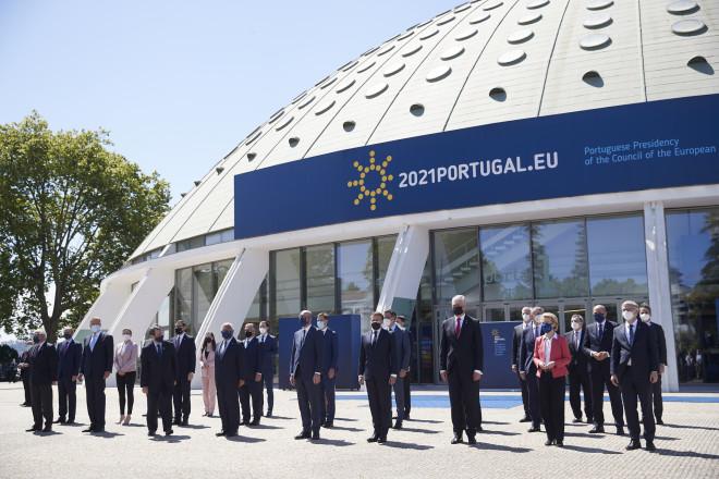 Οι ηγέτες που συμμετείχαν στηνΚοινωνική Σύνοδο Κορυφής στο Πόρτο